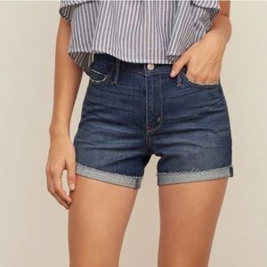 Abercrombie and Fit High Rise Denim Shorts